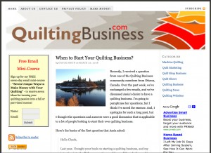 Quilting Business